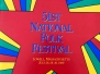 51st National Folk Festival Program Book
