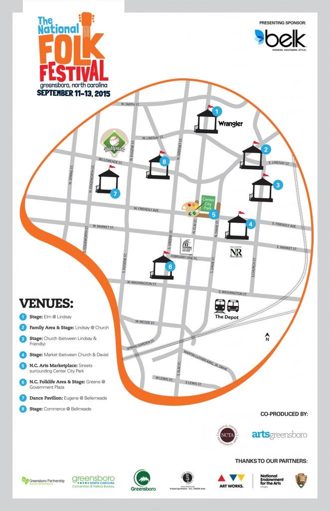 National Folk Festival 15_Map
