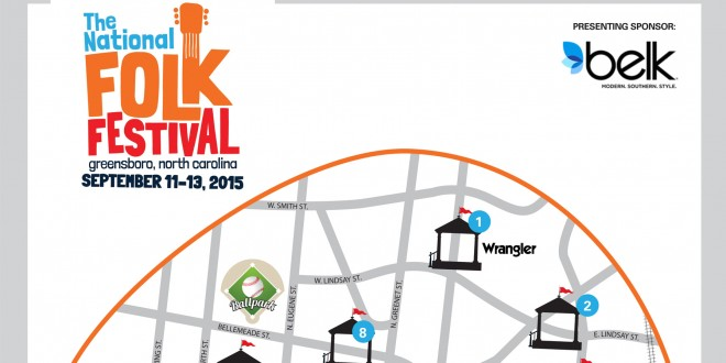 National Folk Festival Announces 2015 Festival Footprint