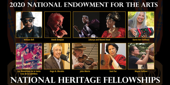 2020 National Heritage Fellowships