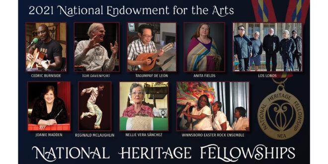 2021 NEA National Heritage Fellowships